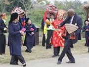 Le Village des ethnies du Vietnam aux couleurs des fêtes de fin d'année
