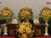 Banquet en l'honneur de Bounnhang Vorachith