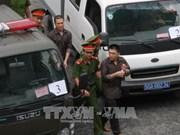 Quinze accusés sont emprisonnés pour acte terroriste