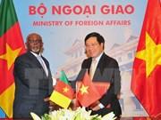 Le Cameroun veut élargir la coopération avec le Vietnam