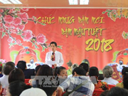 Angola : rencontre de Vietnamiens à l'occasion du Nouvel An