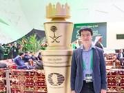 Échecs : Lê Quang Liêm 23e mondial