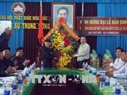 An Giang: célébration du 98e anniversaire de la naissance du fondateur du bouddhisme Hoà Hao