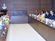 Échanges parlementaires Vietnam-Laos