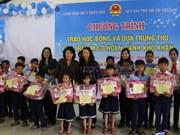 La vice-présidente Dang Thi Ngoc Thinh au 30ème anniversaire des villages SOS Vietnam