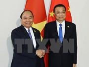 Le Premier ministre rencontre son homologue chinois à Phnom Penh