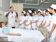 Lancement d'un programme de coopération avec l'OMS