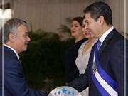 Le président hondurien veut dynamiser les relations Vietnam - Honduras