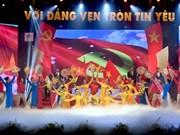 Célébrations en l'honneur du 88ème anniversaire de la fondation du PCV