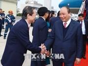 Le PM arrive à Vientiane pour co-présider une réunion du Comité intergouvernemental