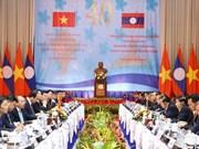 Réunion du Comité intergouvernemental Vietnam-Laos