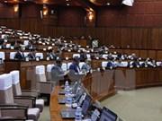 Remise des cadeaux de l'AN vietnamienne au Sénat cambodgien