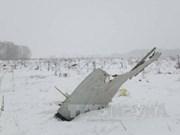 Accident d'un avion russe : message de sympathie du Vietnam