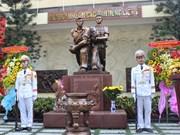 Inauguration du mémorial des commandos ayant attaqué la radio de Saïgon en 1968