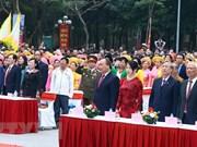 Célébration des 229 ans de la victoire de Ngoc Hôi-Dông Da