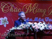 Rencontre à l'occasion du Nouvel an lunaire Mâu Tuât au Laos
