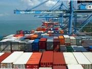 Bond des exportations nationales vers l'Ukraine en janvier