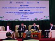 Colloque sur le rôle de la météorologie et de l'hydrologie dans le développement durable