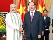 De bonnes perspectives dans les relations Vietnam-Inde