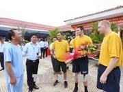 Activités communautaires de la marine américaine à Da Nang