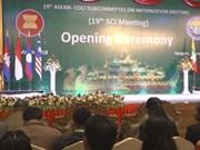 Le Myanmar accueille la 19e réunion du sous-comité sur l'information de l'ASEAN
