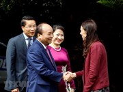 Entretien entre les Premiers ministre vietnamien et néo-zélandais