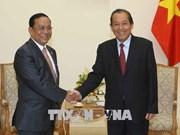 Approfondissement des relations entre le Vietnam et le Myanmar