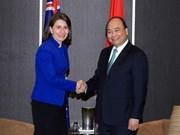 Le PM Nguyen Xuan Phuc rencontre des dirigeants de la Nouvelle-Galles du Sud