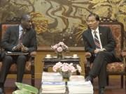 Le Vietnam veut renforcer ses liens économiques avec les pays francophones