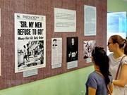 Exposition sur la vague de protestation contre la guerre américaine injustifiée au Vietnam