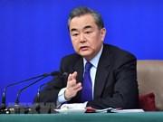 Félicitations à Wang Yi pour sa nomination en tant que conseiller d'État de la Chine