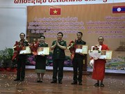 La littérature et les arts honorent la solidarité de combat Vietnam-Laos