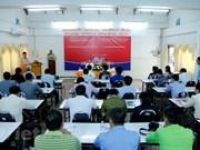 Cours de formation en compétences journalistique au Laos