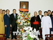 Meilleurs vœux aux catholiques et protestants à l'occasion de Pâques