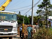 Lancement d'un projet de modernisation du réseau électrique de Phu Yen