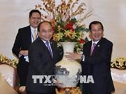 Vietnam et Cambodge affirment la détermination de consolider les relations bilatérales