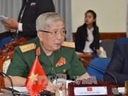 Le général Nguyen Chi Vinh reçoit la délégation du ministère japonais des AE