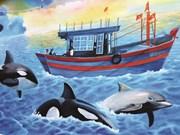 Un projet de peintures murales à Quang Binh