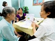 Aide japonaise dans les soins de santé aux personnes âgées