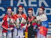 Hô Thi Kim Ngân décroche l'or aux Championnats du Monde juniors de Taekwondo 2018