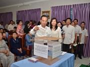 Collecte de fonds au Cambodge pour Truong Sa