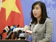 Le Vietnam proteste contre l'utilisation des armes pour menacer la vie des innocents