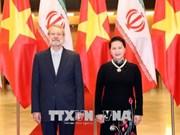 Entretien entre Nguyen Thi Kim Ngan et Ali Ardeshir Larijani
