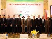 Le Vietnam et la R. de Corée intensifient leur coopération environnementale