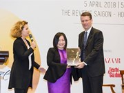 Trang Lê devient ambassadrice honoraire de l'exposition EuroSphère Vietnam 2018
