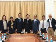 Ho Chi Minh-Ville et la ville grecque d'Edessa cherchent à une coopération plus forte
