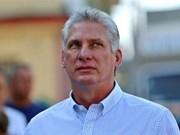 Félicitations au nouveau dirigeant cubain Miguel Diaz-Canel Bermudez