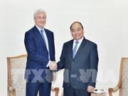 Le PM reçoit le président du groupe américain J.P. Morgan
