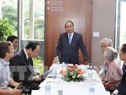 Le PM visite le centre international des sciences et de l'éducation interdisciplinaire