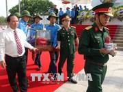 Quang Binh : inhumation des restes de 18 volontaires tombés au Laos